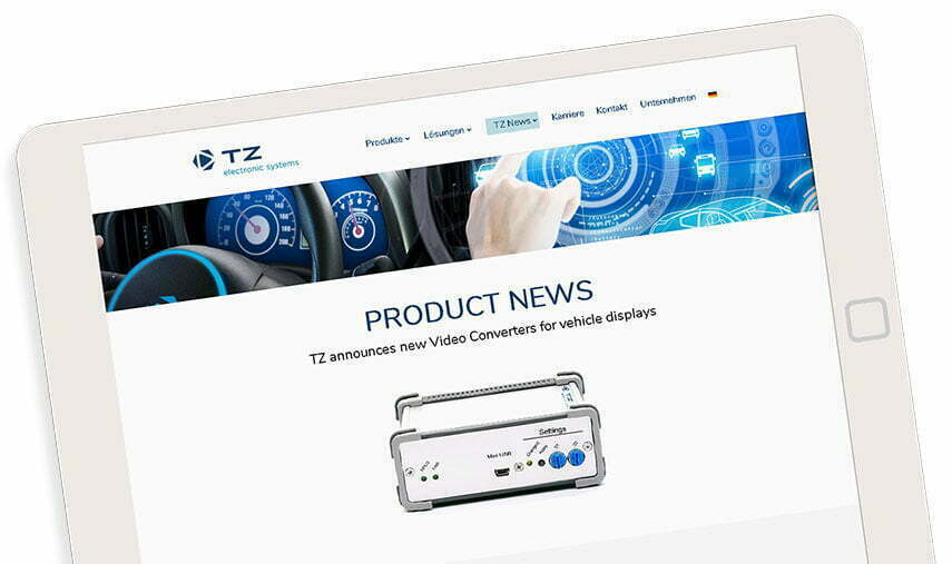 TZ Electronic Systems GmbH - Product News